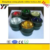 Buy cheap crystal cat eye glass road stud TEMPERED GLASS with rubber 50mm cateye product