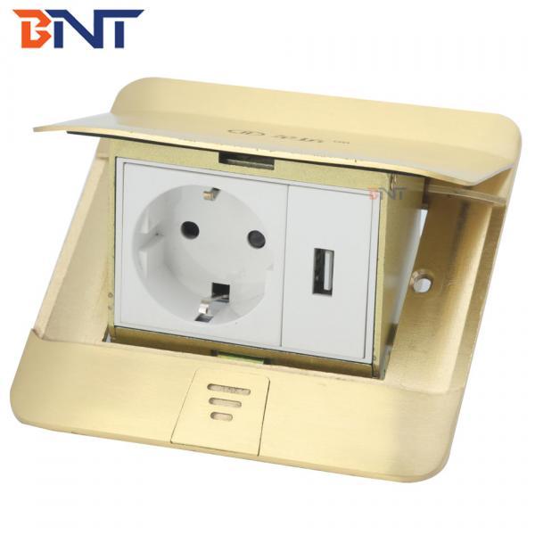 Quality usb connector waterproof design copper floor socket for sale
