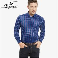 Buy cheap Long Sleeve Male Formal Shirts Anti Shrink Fabric Hand / Machine Washable product
