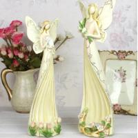 Buy cheap Angel polyresin candle holder wedding gifts product