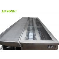 Buy cheap 330L Ultrasonic Cleaning Systems , 40KHz Vertical Blinds Washing Machine product