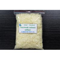Buy cheap Nonionic / Weak fabric softener flakes , Textile Chemical Auxiliaries Surfactants product