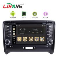 Buy cheap Steering Wheel Control Audi In Car Dvd Player , Audi TT Car Dvd Player Gps Navigation product