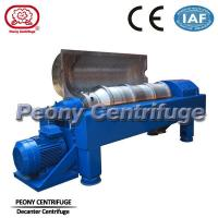Buy cheap Drilling Mud Decanter Centrifuge / Industrial Horizontal Centrifuge product