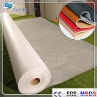 China Polyester Nylon Microfiber Nonwoven Synthetic Leather Fabric Raw Material on sale
