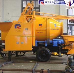 Buy cheap Electric mixer electric cement mixer pump trailer used concrete pumps concrete mixer product