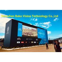 China 16 Bit Processing Outdoor Rental LED Display P3.91 P4.81 Waterproof Seamless Connection on sale