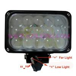 China new 9-32V 45W combo beam CREE LED work light on sale