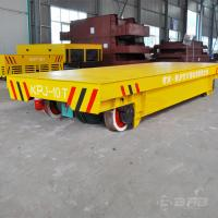 China Working Line Busbar Powered Transfer Cart 1 - 300T Load Capacity 1 Year Warranty on sale