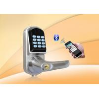 Buy cheap Bluetooth Password Safe Door Lock With Password Keypad / Low Voltage Alarm product