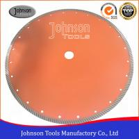 Buy cheap 14 Sintered Diamond Turbo Saw Blade for Wet Cutting Hard Fire Bricks with Hot Press product