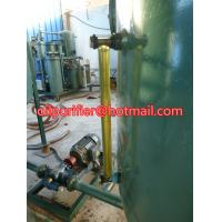 Buy cheap used engine oil recycling machine ,black car oil vacuum distillation to yellow color product
