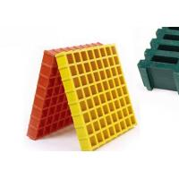 Buy cheap FRP/GRP Grating for Industrial Purpose size50x50mm, thickness:50mm product