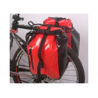 Buy cheap Secure 3 Point Connection Mountain Bike Bag Waterproof Material Red Color product