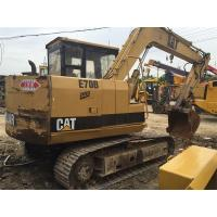 Buy cheap 7 Ton E70B Repaint Color Original From Japan Used Caterpillar Excavator product