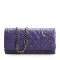 Buy cheap Diamond Lattice with Floral Leather Clutch Bags Small Handbags product