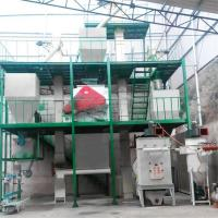 Buy cheap High efficiency feed pellet making processing plant animal feed production line product