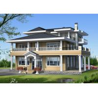 China Fast Construction Prefab Modular House , Modern Steel Structure Homes  Commercial on sale