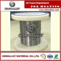 Buy cheap Cr20Ni80 Thermoelectric / Heating Nichrome Alloy Wire For Ceramic Pad Heater from Wholesalers