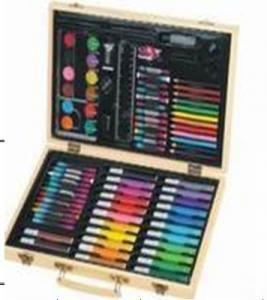 Buy cheap 86pcs wooden case art set product