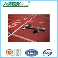 Commercial Rubber Flooring Adhesive Playground Running Track Colorful Breathable Floor