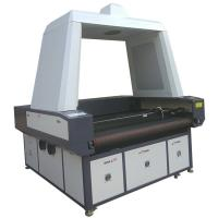 Buy cheap Advertising Use Flag CCD Camera Laser Cutting Machine Printed Fabric Banner product