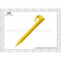 Buy cheap Plastic Tent Peg stakes 14.5 cm product