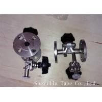 Buy cheap TP304 TP316L SF1 Polished Santiary fittings Valves for Beverage Dairy Wind equipment from Wholesalers