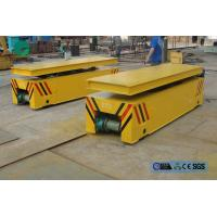 Buy cheap steel box beam structure hydraulic lifting table rail transport trolley product