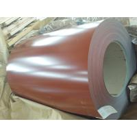Buy cheap Iron Red Color Coated Galvanized Steel Coil For Agricultural Warehouse from Wholesalers