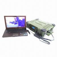 China Camping Accessories, Water-resistant Portable Solar Energy System with 110/220V AC, 5/12V DC Output on sale