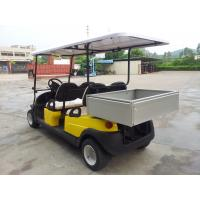 Buy cheap Avant - Garde Practical 4 Seater Golf Cart , 4 Wheel Drive Golf Cart With The Rear Packing product
