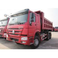 Buy cheap HOWO 6*4 10 Wheeler Euro 2 Heavy Duty Dump Truck 20t - 30t With 336 HP Engine product