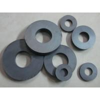 China Permanent Circular Ferrite Ring Magnet High Magnetic 150mm X 100mm X 25mm on sale