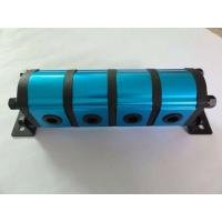 China Straight Tooth hydraulic gear flow divider , 4 Way Hydraulic Flow Divider Valve on sale