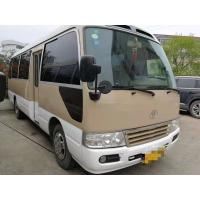 Buy cheap 1HZ Diesel Engine Toyota Used Coaster Bus 30 Seats Manual Gear Box With AC product
