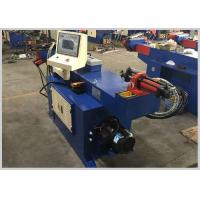 Full Automatic Hydraulic Exhaust Pipe Bender , Pipe Bending Equipment Easy Operation