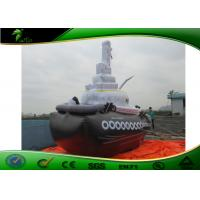 China 4.5M Long Customized Inflatable Boat , Giant Inflatable Tug Boat For Water Display on sale