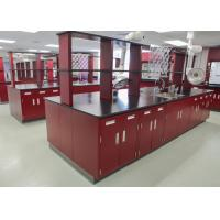 Eye Wash Type Lab Systems Furniture , Universal Exhaust Hood Science Lab Benches