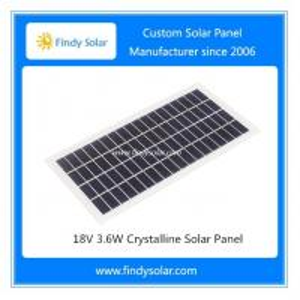 Buy cheap 18V 3.6W Crystalline Solar Panel product
