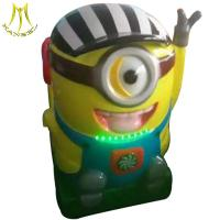China Hansel mini indoor amusement park rides kids ride on coin operated machine on sale