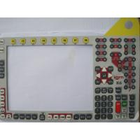 Buy cheap Embossed Metal Dome Membrane Switch , Silicone Rubber Keyboard Membrane Switch product