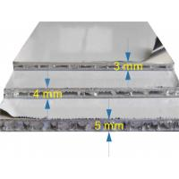 Buy cheap Fireproof A2 Grade Exterior AHP Honeycomb Composite Panels Width Up To 2000mm product