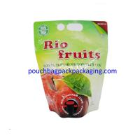 China Plastic juice Bag In Box, Food Packaging Bag with spout, BIB Spout Pouch bag wholesale on sale