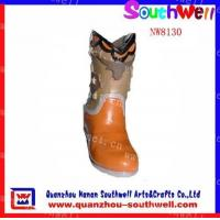 Buy cheap Polyresin Girl's Boot Figurines product