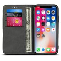 Buy cheap iPhone XS Wallet Case, Premium PU Leather Flip Cover[Kickstand Feature] For iPhone 6,7,8,X,XS,XS MAX,XR product
