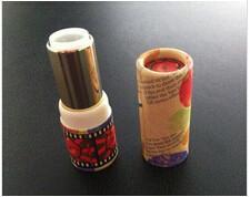 Buy cheap Custom Design fashion mini cosmetic paper tube for lip balm box product