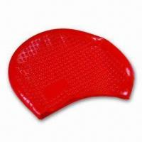 Buy cheap Swimming Cap, Made of Silicone, with Nontoxic and Non-allergic Features, Highly Elastic product