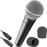 Buy cheap -73dB±3dB professional Cardioid Black Metal Plate Dynamic Wired Microphone (SM-2.0) product
