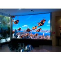 Buy cheap Wall Mounted Indoor Full Color Led Display Screen 2.5mm 160 Degree product